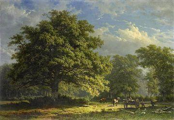Blick in den Bentheimer Wald, Georg Andries Roth