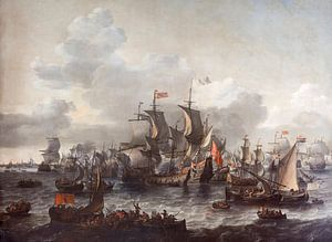 Die Schlacht an der Zuiderzee - Jan Theunisz