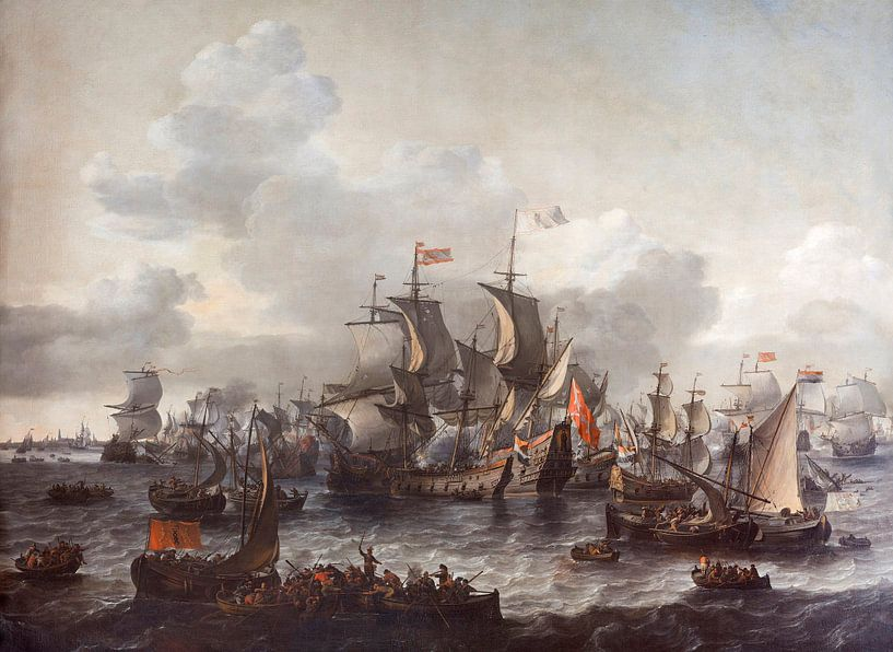 Die Schlacht an der Zuiderzee - Jan Theunisz sur Meesterlijcke Meesters