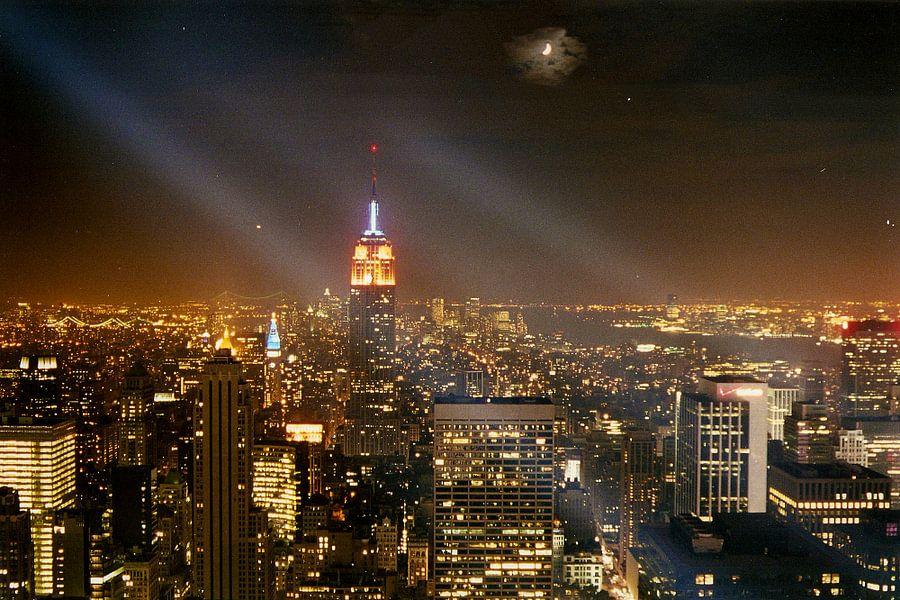 Empire State Building bij nacht - New York City