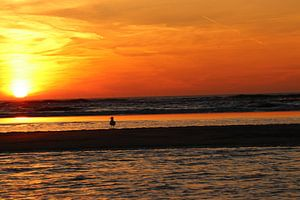 Zandvoort zonsondergang
