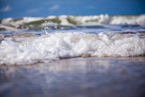 strandfoto van de golven