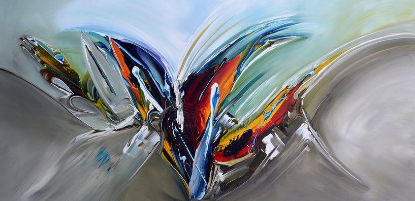 Abstract von Gena Theheartofart