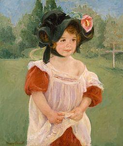 Kindheit in einem Garten , Mary Cassatt - 1901