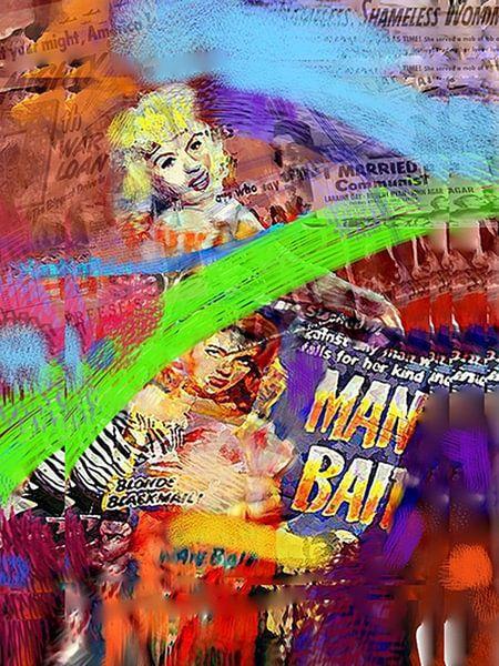 Manbait II | Manbait Pop Art van Leah Devora