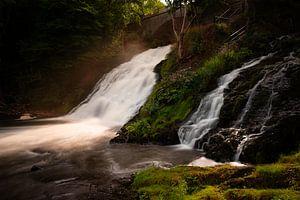 Watervallen van Coo, Ardennen, Belgium van Colin Bax