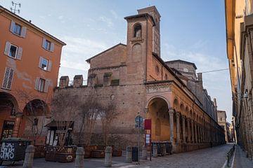 Basilique de San Giacomo Maggiore à Bologne sur Joost Adriaanse