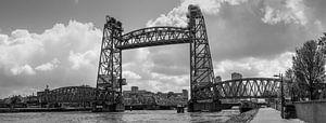 De oude hefbrug in Rotterdam (De Hef)
