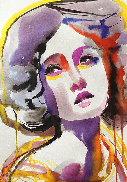 Regenbogen-Glühen von Helia Tayebi Art