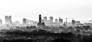 De Domtoren waakt over Utrecht.