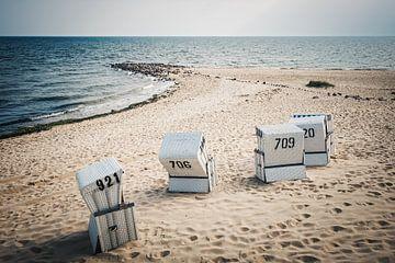 List auf Sylt - Nordsee und Strandkörbe von Alexander Voss
