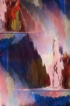 Energie Schilderij Bevrijd je Ziel van Christine Bässler