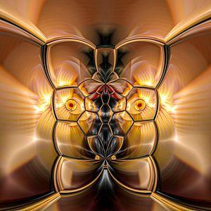 Phantasievolle abstrakte Twirl-Illustration 109/5