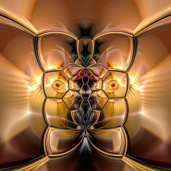 Phantasievolle abstrakte Twirl-Illustration 109/5 von PICTURES MAKE MOMENTS