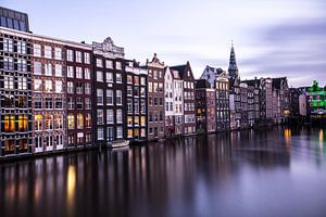 Amsterdam kan nooit ophouden u te amuseren. van