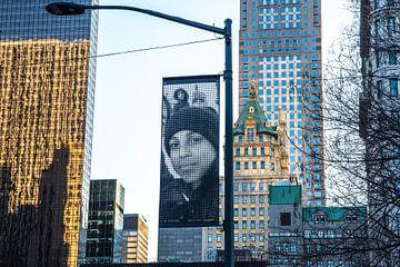 Kunst van A Wei Wei op 5th Avenue NYC van Annelies Martinot