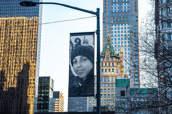 Kunst van A Wei Wei op 5th Avenue NYC