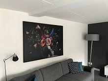 Photo de nos clients: Nature morte de la Fleur de Beauté Royale sur Sander Van Laar, sur toile