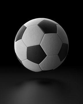 Zwevende voetbal van Chrisjan Peterse