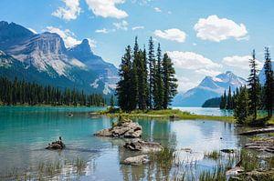 Spirit Island - Maligne Lake