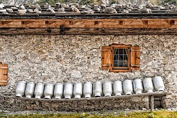 Almhütte, Tirol, Austria von Hubertus Kahl