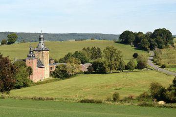 Hügelige Landschaft von Limburg von Nicolette Vermeulen