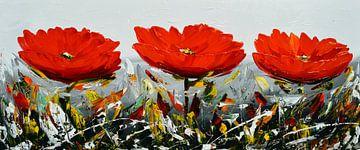 Flowers van Gena Theheartofart