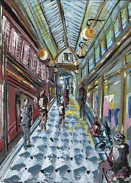 Paris-Passage von sarah Loecker