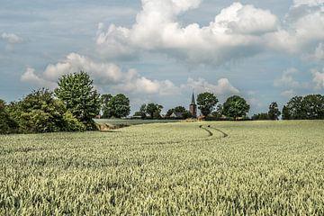 Landschaft in Herstappe (B) von Martine Dignef