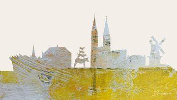 Bremen  auf einen Blick von Harry Hadders