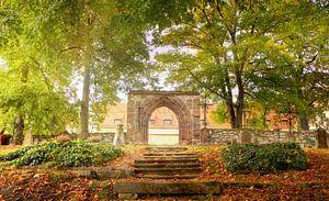 Lumière dans le cimetière, automne