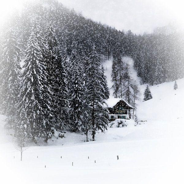 Bavarian Winter's Tale IX van Melanie Viola