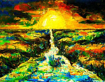 Sunset van Eberhard Schmidt-Dranske
