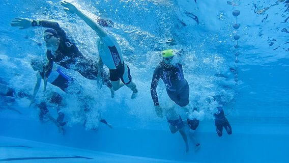 Triathlon sur Marco Bakker