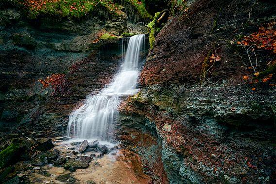 Wasserfall in der Wieslaufschlucht