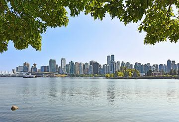 skyline van Vancouver van Andreas Föll