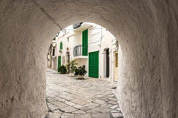 Doorkijkje in het zuiden van Italië Monopoli van Ron van der Stappen