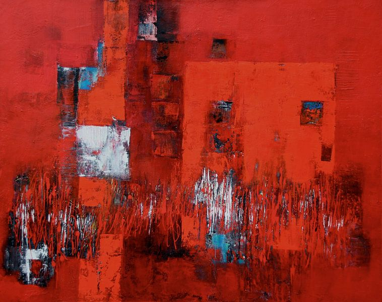 Lieblingsfarbe ROT Nr. 10 van Claudia Neubauer