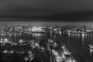 Rotterdam, zwart-wit van