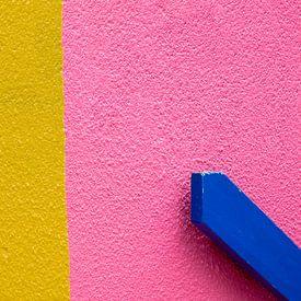 Pink Yellow and Blue van Mark den Hartog