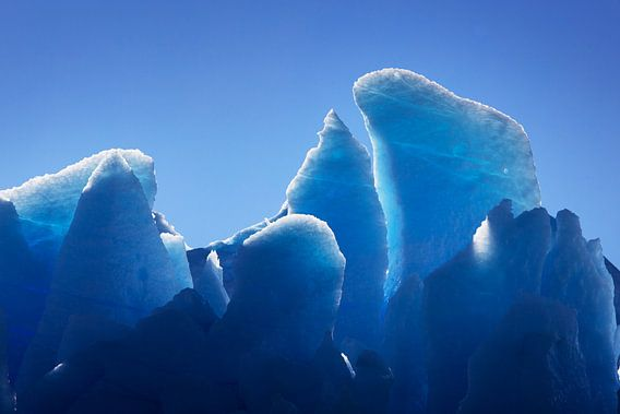 Grey gletsjer in Patagonië