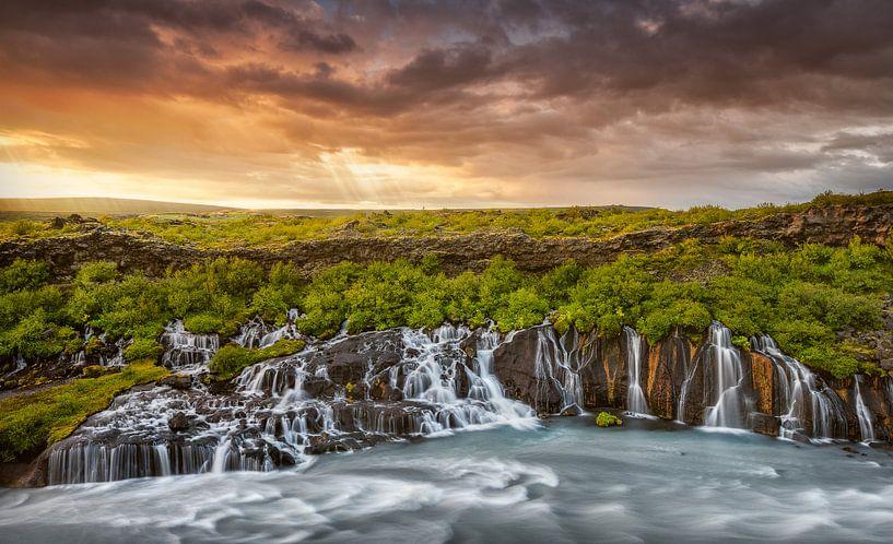 Island Wasserfall von FineArt Prints   Zwerger-Schoner  