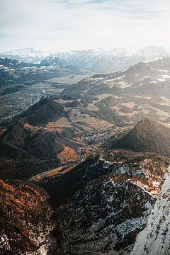 Untersberg   Winter in de Alpen van Nanda van der Eijk