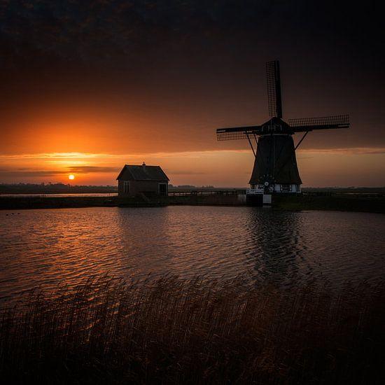 Windmolen Texel van Ruud Peters