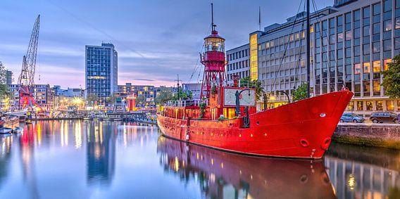 Breedbeeld Wijnhaven Rotterdam van Frans Blok