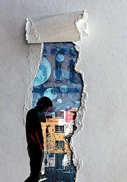 Walk through the torn paper von PictureWork - Digital artist