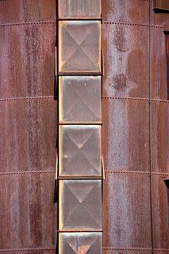 Silo utilisé dans les hauts fourneaux sur Jan Brons