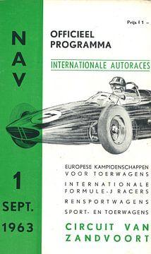 AUTORACES 1963 sur Jaap Ros