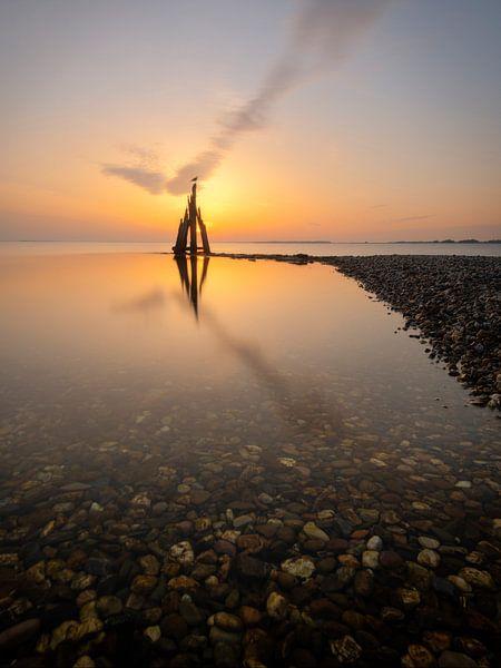 Het Arendshoofd aan het Grevelingenmeer bij Den Osse. van Jos Pannekoek
