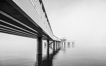 Seebrücke zum Teehaus von Werner Reins